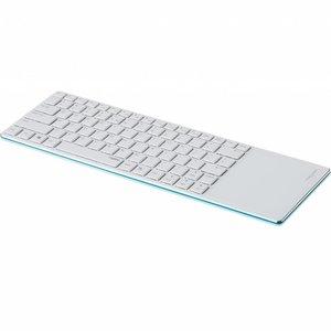 Rapoo E6700 blauw bluetooth toetsenbord met touchpad (Niet meer leverbaar)