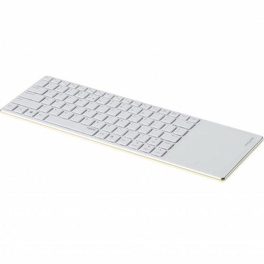 Rapoo E6700 groen bluetooth toetsenbord met touchpad
