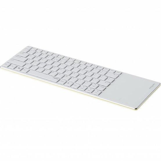 Rapoo E6700 groen bluetooth toetsenbord met touchpad (Niet meer leverbaar)
