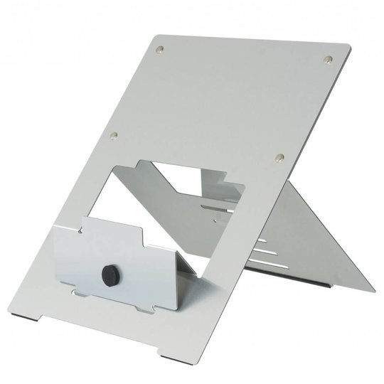 R-Go Riser laptopstandaard zilver