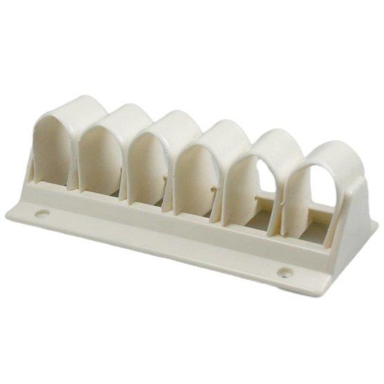 KlipZ zelfklevende kabelklem wit