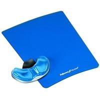 Fellowes Health-V Crystal gliding polssteun muismat blauw