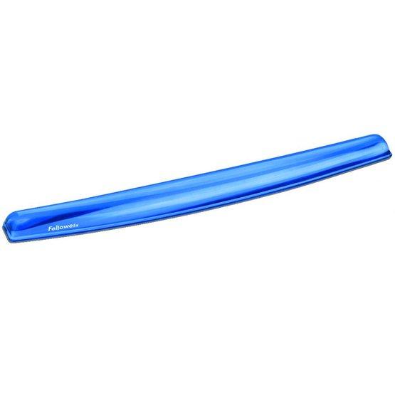 Fellowes Crystals Gel polssteun toetsenbord blauw