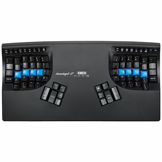 Kinesis Advantage2 Quiet Low-Force ergonomisch toetsenbord