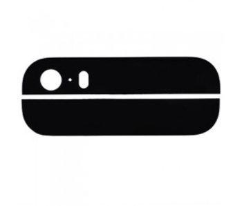 Glas achterkant voor Apple iPhone 5S Zwart/Black back glass reparatie onderdeel
