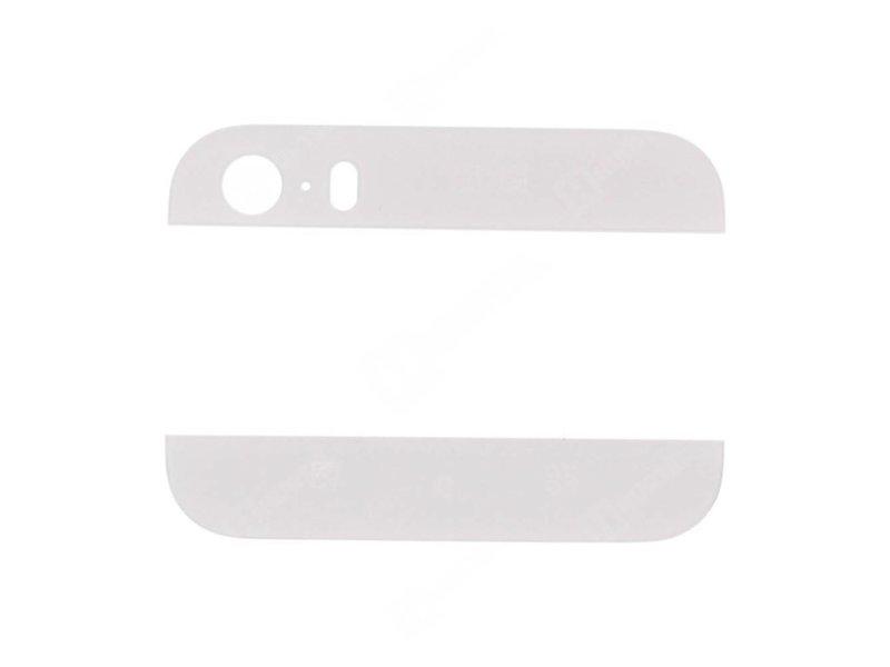 Glas achterkant voor Apple iPhone 5S Wit/White back glass reparatie onderdeel