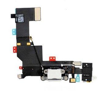 Dock connector voor Apple iPhone 5S Wit/White oplaadpoort reparatie onderdeel