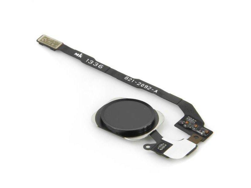 Home button voor Apple iPhone 5S Zwart/Black reparatie onderdeel