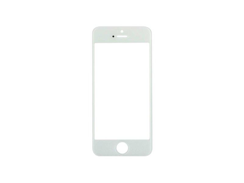 Front glas voor Apple iPhone 5 Wit/White (scherm glas)