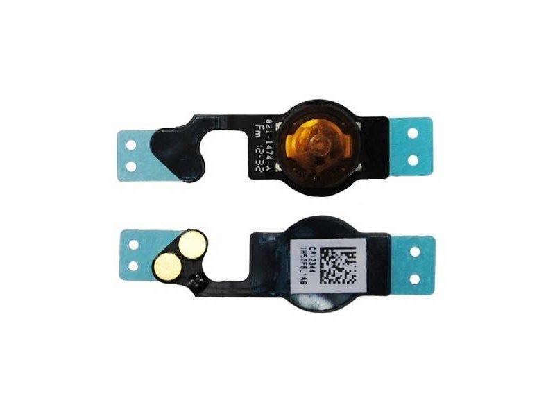Home button voor Apple iPhone 5C Zwart/Black reparatie onderdeel