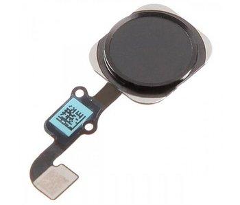 Home button voor iPhone 6 en 6 plus Zwart/Black reparatie onderdeel