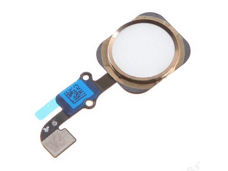 Home button voor iPhone 6 en 6 plus Goud/Gold reparatie onderdeel