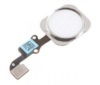 Home button voor iPhone 6 en 6 plus Zilver/Silver reparatie onderdeel