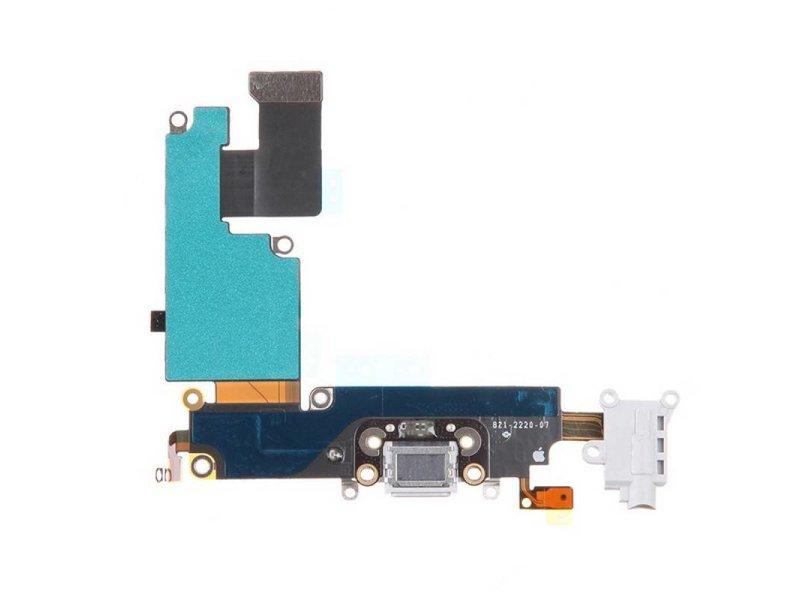 Dock connector voor iPhone 6 Wit/White oplaadpoort flex reparatie onderdeel