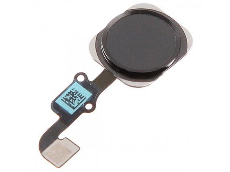 Home button voor iPhone 6S & 6S PLUS Zwart/Black reparatie onderdeel