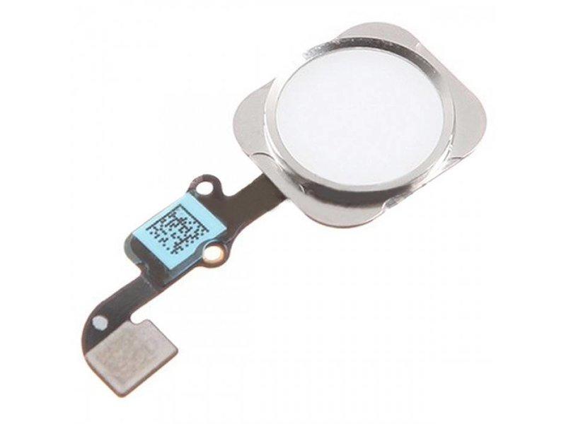 Home button voor iPhone 6S & 6S PLUS Zilver/Silver reparatie onderdeel