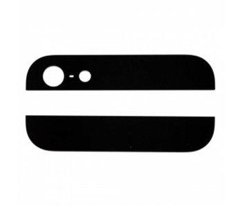 Glas achterkant voor Apple iPhone 5 Zwart/Black back glass reparatie onderdeel
