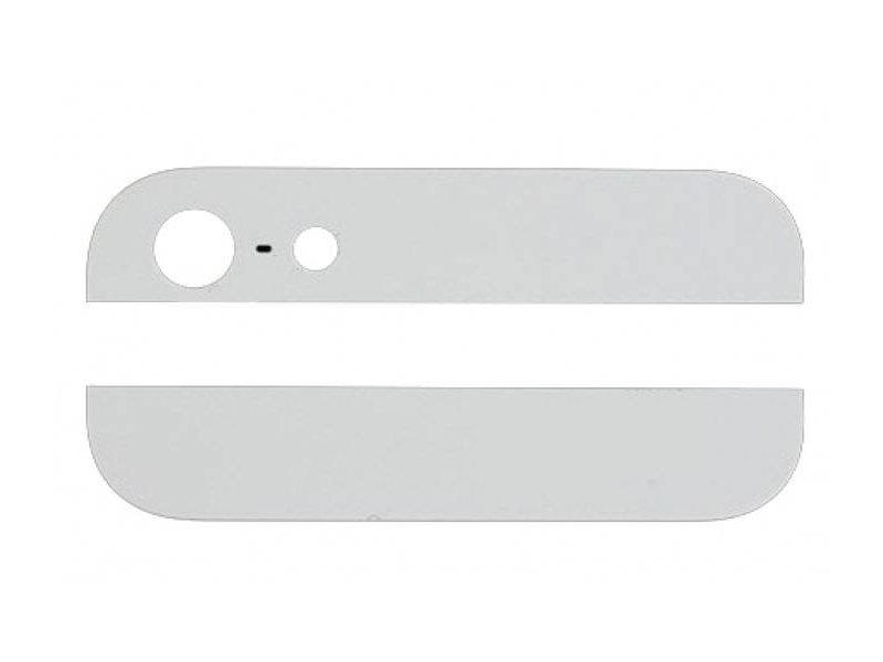 Glas achterkant voor Apple iPhone 5 Wit/White back glass reparatie onderdeel