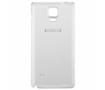 Back cover voor Samsung Galaxy Note 4 Wit / White batterij klepje achterkant