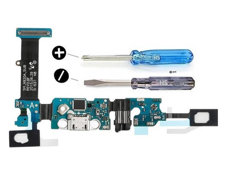 Dock connector voor Samsung Galaxy Note 5 (N920) micro-usb oplaadpoort reparatie onderdeel