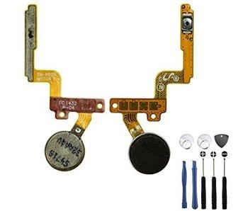 Trilmotor + Power flex kabel voor Samsung Galaxy Note 4 reparatie onderdeel + Tools