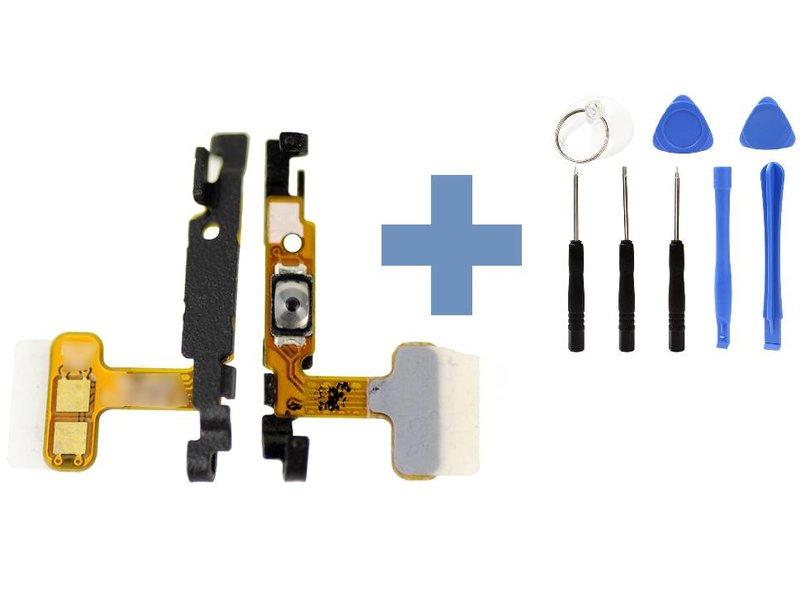 Power button flex kabel voor Samsung Galaxy S6 Edge G925F reparatie onderdeel + benodigd gereedschap