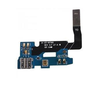 Dock connector micro-usb oplaadpoort voor Samsung Galaxy Note 2 reparatie onderdeel