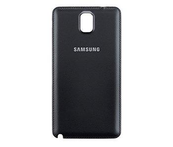 Back cover voor Samsung Galaxy Note 3 Zwart / Black batterij klepje achterkant