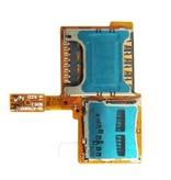Simkaart en Geheugenkaart connector voor Samsung Galaxy Note 3 Neo reparatie onderdeel