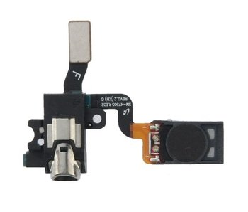 Oorspeaker + headphone jack aansluiting voor Samsung Galaxy Note 3 Neo reparatie onderdeel