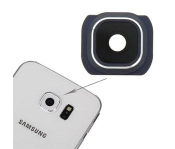 Camera lens cover glas voor Samsung Galaxy S6 Blauw/Blue reparatie onderdeel