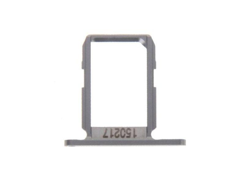 Simkaart sim tray voor Samsung Galaxy S6 G920 Grijs / Grey reparatie onderdeel