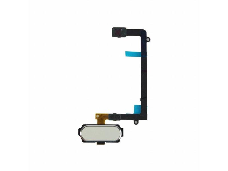 Home button voor Samsung Galaxy S6 G920 WIT/White reparatie onderdeel