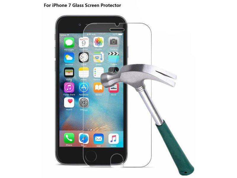 Screenprotector ECHT GEHARD GLAS voor Apple iPhone 7 (tempered glass/gehard glas)