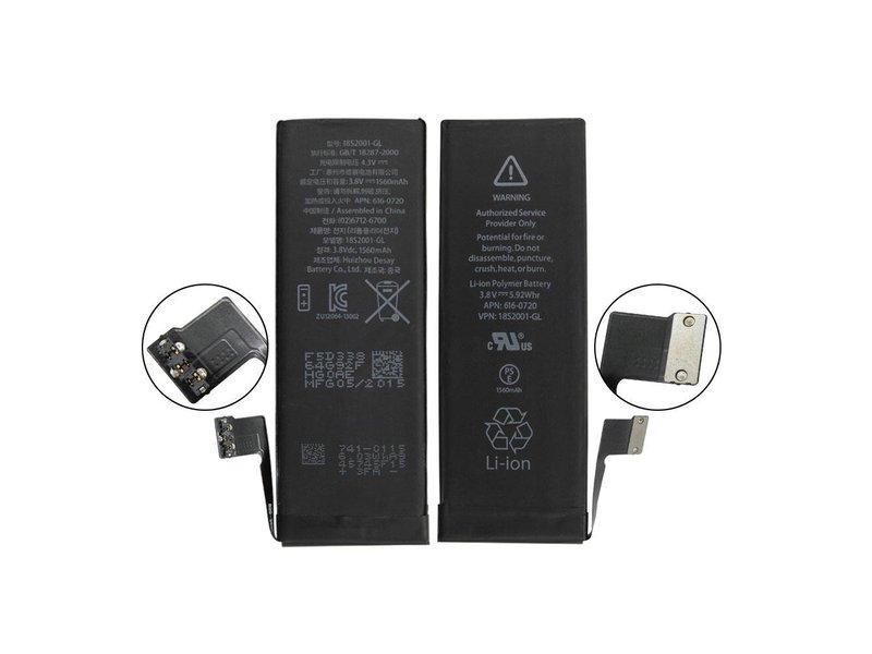 Premium batterij voor Apple iPhone 5S - accu 1560 mAh (5.92 Whr) - AAA+ kwaliteit