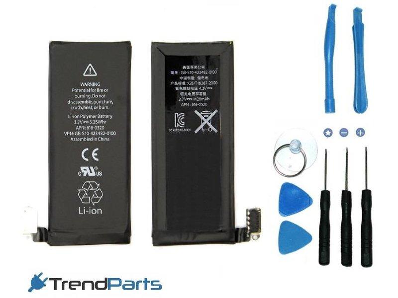 Premium batterij voor Apple iPhone 4 - accu 1420 mAh - AAA+ kwaliteit met benodigd gereedschap