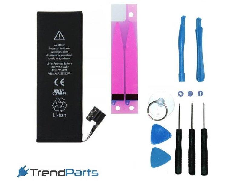 Premium batterij voor Apple iPhone 5 (5G) - accu 1440 mAh - AAA+ kwaliteit + benodigd gereedschap + plakstrip