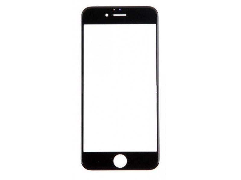 Front glas voor Apple iPhone 7 glasplaat Zwart/Black scherm voor reparatie