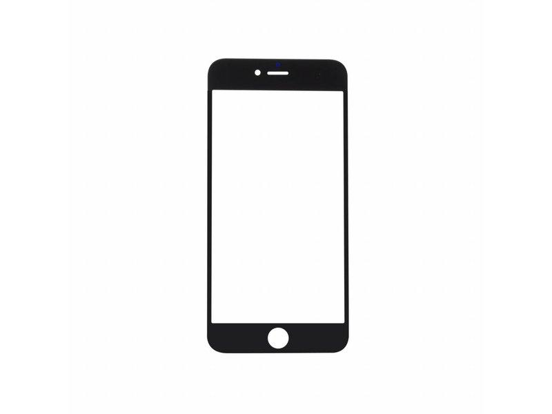 Front glas voor Apple iPhone 6 PLUS - 5,5 inch - glasplaat Zwart/Black scherm voor reparatie
