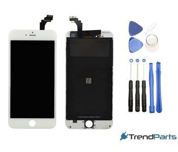 Compleet AAA+ kwaliteit LCD scherm met touchscreen voor Apple iPhone 6 PLUS wit + toolkit (white)