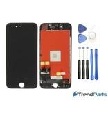 Compleet AAA+ kwaliteit LCD scherm met touchscreen voor Apple iPhone 7 ZWART + toolkit (black)