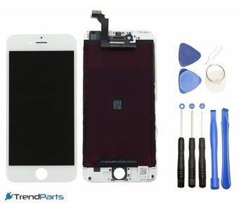Compleet LCD scherm met touchscreen AAA+ voor Apple iPhone 6 (6G) WIT + toolkit (white)