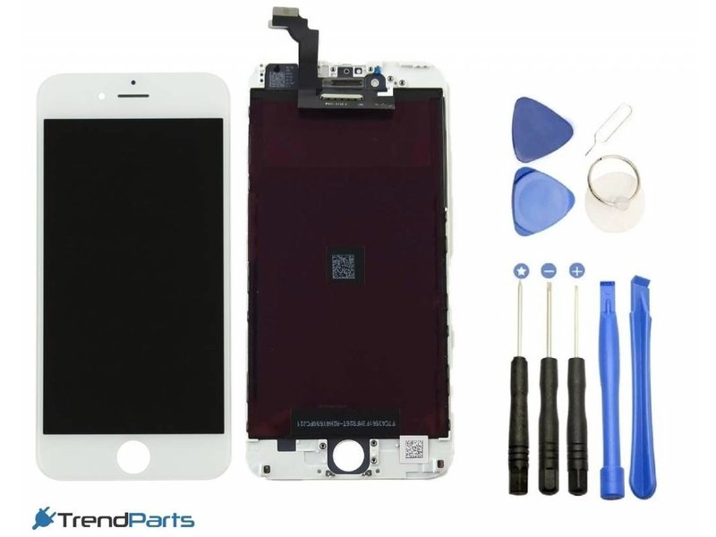 Compleet LCD scherm met touchscreen AAA+ voor Apple iPhone 6 (6G) WIT + toolkit (white)