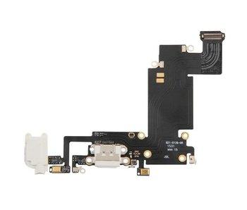 Dock connector voor iPhone 6S PLUS wit / white lightning oplaadpoort reparatie onderdeel