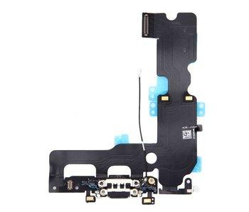 Dock connector lightning voor Apple iPhone 7 PLUS Zwart / Black oplaadpoort + audio flex reparatie onderdeel