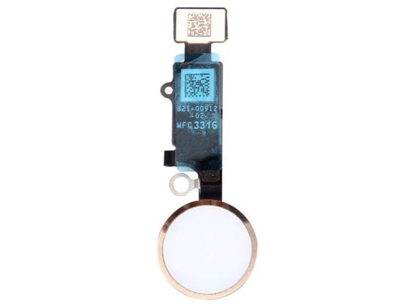 Home button voor Apple iPhone 7 PLUS Goud / Gold thuisknop reparatie onderdeel