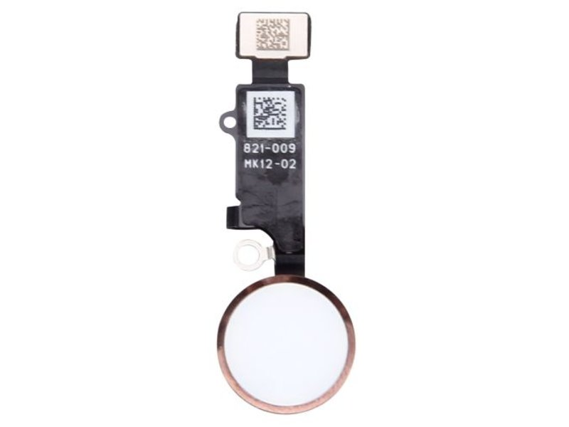 Home button voor Apple iPhone 7 PLUS Rose Goud / Rose Gold thuisknop reparatie onderdeel