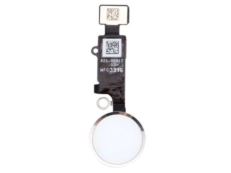 Home button voor Apple iPhone 7 PLUS Zilver / Silver thuisknop reparatie onderdeel