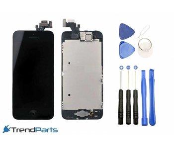 Voorgemonteerd compleet scherm voor Apple iPhone 5 Zwart/Black AAA+ LCD + Tools