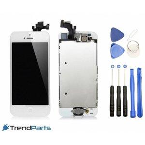 Voorgemonteerd compleet scherm voor Apple iPhone 5 Wit /White AAA+ kwaliteit LCD + Tools